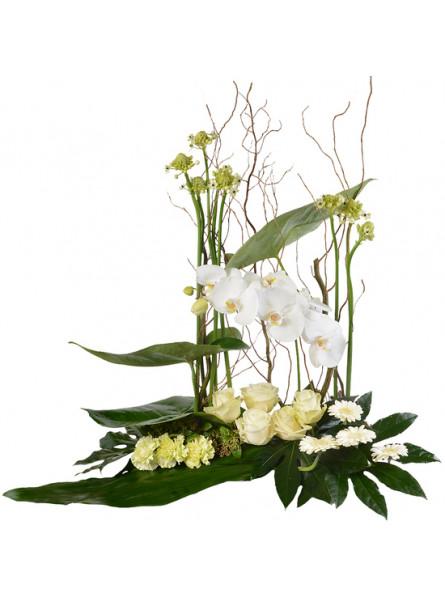 COMPOSITION FLEURS MARIAGE FLORAISON. LIVRAISON FLEURS - ENVOI FLEURS - ENVOYER DES FLEURS