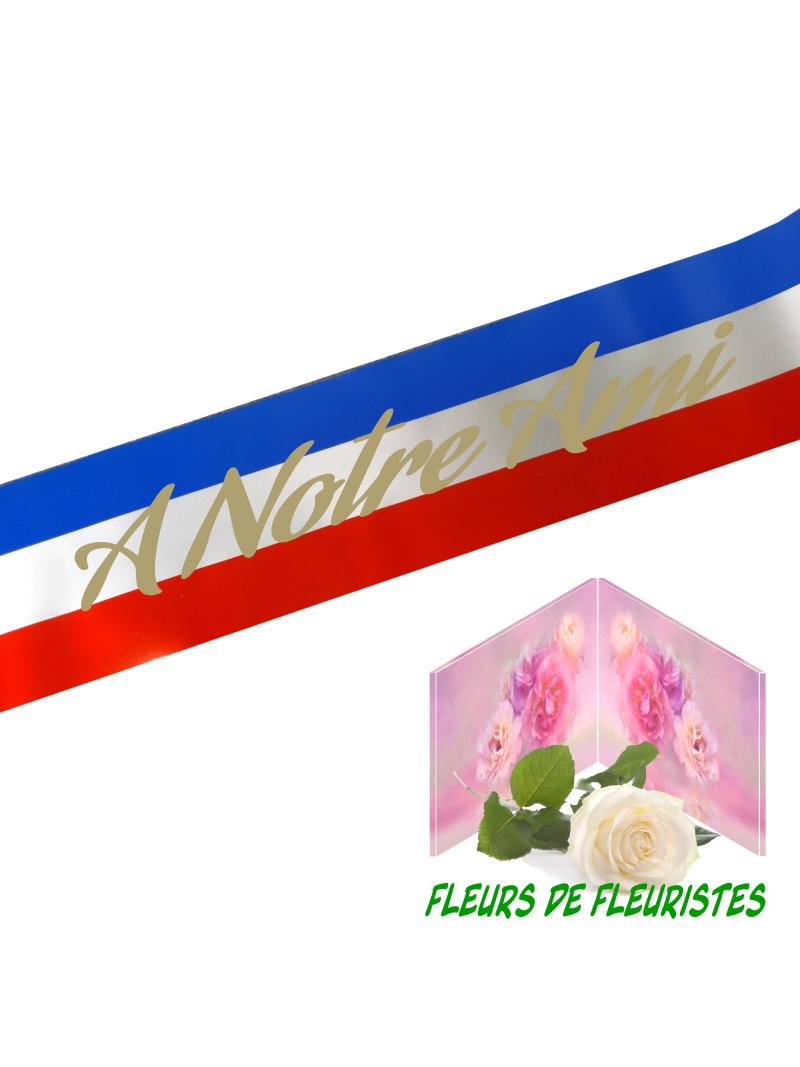TN RUBAN DEUIL BLEU BLANC ROUGE