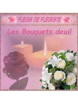FAIRE LIVRER UN BOUQUET DEUIL. envoyer un bouquet deuil - envoi bouquet deuil