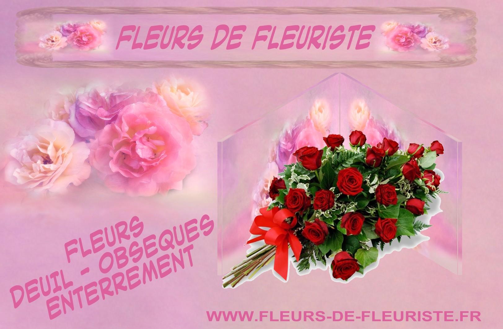 FLEURS DEUIL - LIVRAISON FLEURS DÉCÈS ENTERREMENT